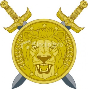 stock-illustration-12210921-roman-lion-head-shield-with-crossed-swords[1]